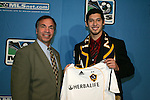15 January 2009: Omar Gonzalez was taken with the third overall pick by the Los Angeles Galaxy, with head coach Bruce Arena. The 2009 Major League Soccer SuperDraft was held at the Convention Center in St. Louis, Missouri in conjuction with the National Soccer Coaches Association of America's annual convention.