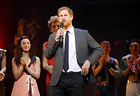 Prince Harry at Gala Performance of Bat Out Of Hell The Musical in Aid of Invictus Games Foundation