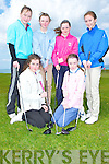 Young Ladies from Golf Club in Kery who played in the Munster Qualifer at Tralee Golf Club on saturday, Front l-r; Nicola Rainford and Niamh carmody (Killorglin)(. Back l-r: Anna O'CXonnor (Kenmare), Eilbhn McCarthy (Killorglin), Mairead Martin (Killarney) and Catherine Griffin (Killorglin)...