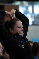 Day Two of the 2018 North Island Synchronised Swimming Championships at Wellington Regional Aquatics Centre in Wellington, New Zealand on Sunday, 20 May 2018. Photo: Dave Lintott / lintottphoto.co.nz