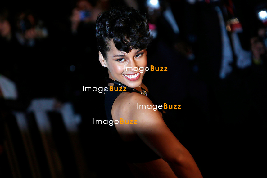 ALICIA KEYS/ January 26,, 2013- Alicia Keys attends the NRJ Music Awards at Palais des Festivals in Cannes, France. .
