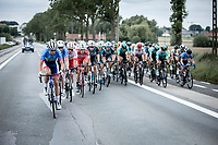 2nd part of the peloton chasing the 1st part. <br /> <br /> GP Marcel Kint 2019 (BEL)<br /> One Day Race: Kortrijk – Zwevegem 188.10km. (UCI 1.1)<br /> Bingoal Cycling Cup 2019