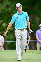 Robert Streb (USA) watches his tee shot on 5 during Friday's round 2 of the PGA Championship at the Quail Hollow Club in Charlotte, North Carolina. 8/11/2017.<br /> Picture: Golffile | Ken Murray<br /> <br /> <br /> All photo usage must carry mandatory copyright credit (&copy; Golffile | Ken Murray)