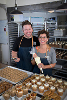 Shaun and Brady Breese, owners of Urban Cookies.