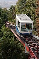 Rigiblick-Bahn, Zürich, Schweiz