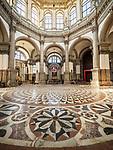 Mosaic floor, Basilica di Santa Maria della Salute, Venice, Italy
