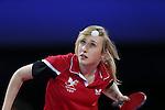 Glasgow 2014 Commonwealth Games<br /> Charlotte Carey v Kumar Azad Jinita Shah <br /> <br /> 29.07.14<br /> ©Steve Pope-SPORTINGWALES