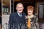 Patrick and Mary Dennehy from Lixnaw, enjoying the Lixnaw Senior Citizens party in the Rose Hotel on Sunday.