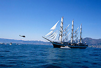 il velero  Pallada della Russia