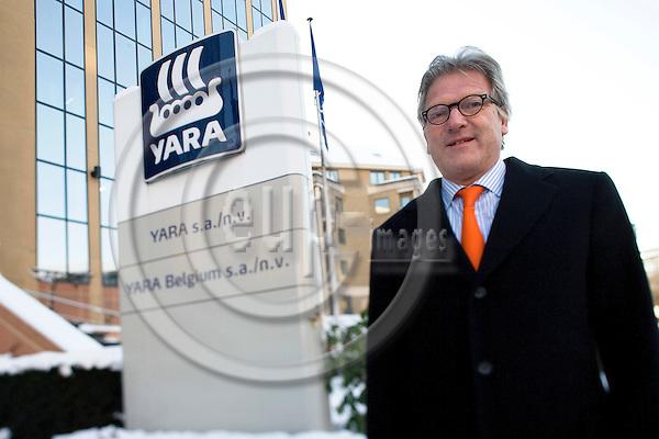 BRUSSELS - BELGIUM - 06 JANUARY 2009 -- Director Steinar SOLHEIM, both YARA S.A in Belgium. Photo: Erik Luntang/EUP-IMAGES