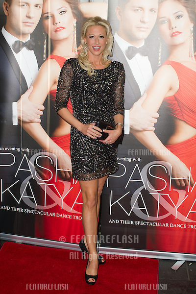 Faye Tozer at the Katya and Pasha West End show - Gala night held at the Lyric Theatre, London. 07/04/2014 Picture by: Dave Norton / Featureflash