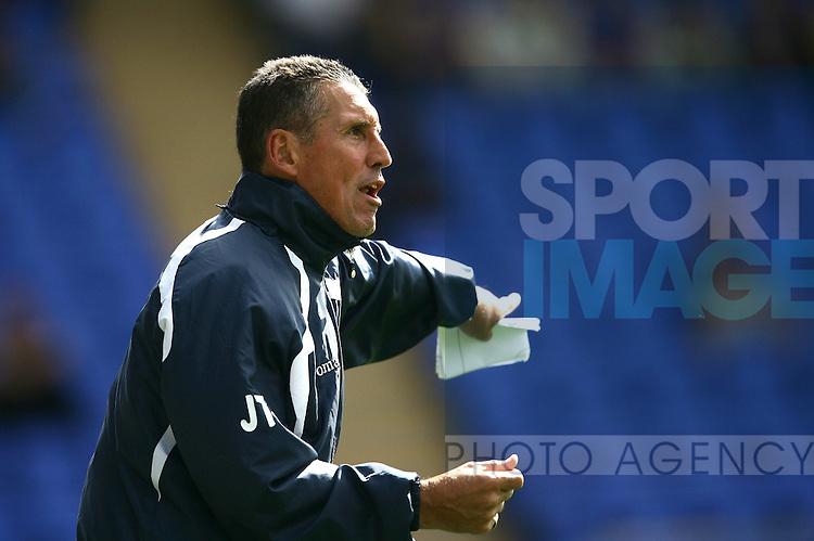 Shrewsbury Town assistant manager John Trewick