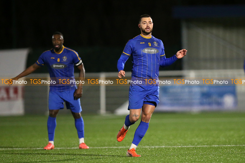 Louie Theophanous of Romford during Romford vs Brentwood Town, BetVictor League North Division Football at Parkside on 11th February 2020