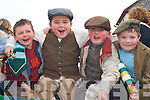 Tadgh O'Shea, Shane Browne, James O'Connor and Darragh O'Connor having fun at the Castleisland St Patricks Day parade on Monday   Copyright Kerry's Eye 2008