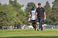 Jordan Spieth (USA) approaches the 18th green during round 4 of the World Golf Championships, Mexico, Club De Golf Chapultepec, Mexico City, Mexico. 3/4/2018.<br /> Picture: Golffile | Ken Murray<br /> <br /> <br /> All photo usage must carry mandatory copyright credit (&copy; Golffile | Ken Murray)