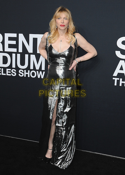 HOLLYWOOD, CA - FEBRUARY 10:  Courtney  Love at Saint Laurent at The Palladium at the Hollywood Palladium on February 10, 2016 in Hollywood, California. <br /> CAP/MPI/PGSK<br /> &copy;PGSK/MPI/Capital Pictures