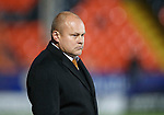 Dundee United v St Johnstone....21.11.15  SPFL,  Tannadice, Dundee<br /> Mixu Paatelainen looks on<br /> Picture by Graeme Hart.<br /> Copyright Perthshire Picture Agency<br /> Tel: 01738 623350  Mobile: 07990 594431