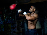 Michael B. Jordan stars as Adonis Creed <br /> Creed 2 (2018)<br /> *Filmstill - Editorial Use Only*<br /> CAP/RFS<br /> Image supplied by Capital Pictures