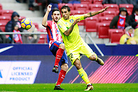 Atletico de Madrid's Koke Resurreccion (l) and Getafe CF's Francisco Portillo during La Liga match. January 6,2018. (ALTERPHOTOS/Acero) /NortePhoto.com NORTEPHOTOMEXICO