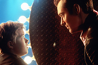 A.I. Artificial Intelligence (2001) <br /> Haley Joel Osment &amp; Jude Law<br /> *Filmstill - Editorial Use Only*<br /> CAP/KFS<br /> Image supplied by Capital Pictures