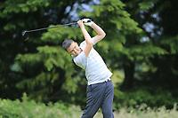 Joshua McKee (Antrim) during the Connacht U14 Boys Amateur Open, Ballinasloe Golf Club, Ballinasloe, Galway,  Ireland. 10/07/2019<br /> Picture: Golffile | Fran Caffrey<br /> <br /> <br /> All photo usage must carry mandatory copyright credit (© Golffile | Fran Caffrey)