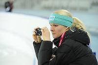 SPEEDSKATING: SOCHI: Adler Arena, 19-03-2013, Training, Stephanie Beckert (GER), © Martin de Jong