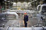 Scott Digert,  Prudhoe Bay Reservior Development Manager (East)  at Pump Station One.