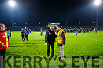 Kerry manager Peter Keane leave the field at the end of the Allianz Football League Division 1 Round 3 match between Kerry and Dublin at Austin Stack Park in Tralee, Kerry on Saturday night.