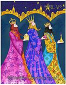Kate, HOLY FAMILIES, HEILIGE FAMILIE, SAGRADA FAMÍLIA, paintings+++++Christmas page 51 1,GBKM165,#xr# ,3 kings