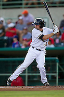 San Antonio Missions designated hitter Robert Kral (11) at bat in the Texas League baseball game against the Frisco Roughriders on August 22, 2013 at the Nelson Wolff Stadium in San Antonio, Texas. Frisco defeated San Antonio 2-1. (Andrew Woolley/Four Seam Images)