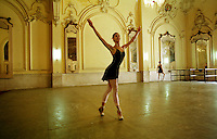 A ballerina practices her dance in Havana's Grand Theater. I made this image during a three-year project on everyday life in Cuba.