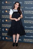 """July Namir<br /> arriving for the """"Baghdad Central"""" screening at the BFI South Bank, London.<br /> <br /> ©Ash Knotek  D3548 16/01/2020"""