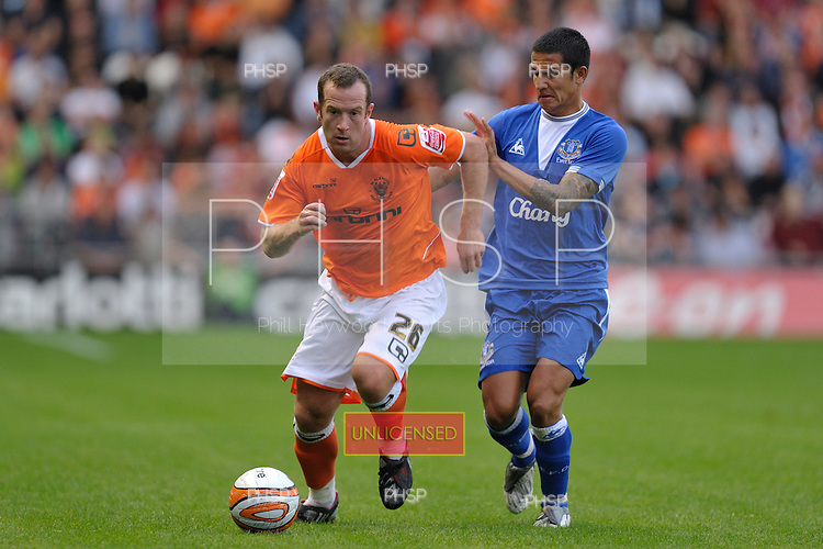 04/08/2009 Pre Season Friendly Blackpool v Everton<br /> <br /> <br /> <br /> © Phill Heywood<br /> tel 07806 775649