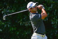 Yuta Ikeda (JPN) watches his tee shot on 2 during round 1 of the World Golf Championships, Mexico, Club De Golf Chapultepec, Mexico City, Mexico. 3/2/2017.<br /> Picture: Golffile | Ken Murray<br /> <br /> <br /> All photo usage must carry mandatory copyright credit (&copy; Golffile | Ken Murray)