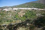 Town of Lanjaron, Alpujarra area, Granada province, Spain