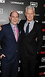 HOLLYWOOD, CA - MARCH 14: Matthew Weiner and John Slattery arrive at AMC's 'Mad Men' Season 5 Premiere at ArcLight Cinemas Cinerama Dome on March 14, 2012 in Hollywood, California.