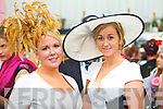 Catriona Sayers, Derrymore and Frieda Fitzgerald, Dingle pictured at Galway Races ladies day on Thursday at Ballybrit racecourse.