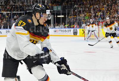 Friday, 5 May, 2017,Lanxess Arena , Cologne/GER<br /> IIHF World Hockey Championship 2017<br /> USA  vs  GER<br /> Germany`s player PHILIP GOGULLA<br /> Friday, 5 May, 2017,Lanxess Arena , Cologne/GER<br /> IIHF World Hockey Championship 2017<br /> USA  vs  GER