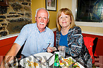 Roger and Bernadette Hussey from Lixnaw enjoying the evening in the Brogue Inn on Friday.