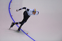 SPEEDSKATING: CALGARY: nov.2015, Olympic Oval, ISU World Cup, Mathias Vosté (BEL), ©foto Martin de Jong