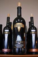 Bottle of Reserva special blend Bodega Del Fin Del Mundo - The End of the World - Neuquen, Patagonia, Argentina, South America