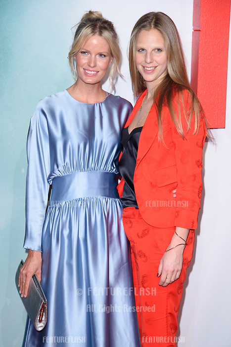 Caroline Winbereg &amp; Teodora Berglund at the &quot;Tomb Raider&quot; European premiere at the Vue Leicester Square, London, UK. <br /> 06 March  2018<br /> Picture: Steve Vas/Featureflash/SilverHub 0208 004 5359 sales@silverhubmedia.com