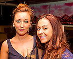 Sarah Mullarney and Charlene McGarry having a night in Barocco..Picture: Shane Maguire / www.newsfile.ie.