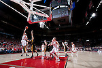 March 3, 2010: Wisconsin Badgers guard Ryan Evans (5) shoots the ball during a Big Ten Conference NCAA basketball game against the Iowa Hawkeyes at the Kohl Center on March 3, 2010 in Madison, Wisconsin. The Badgers won 67-40. (Photo by David Stluka)