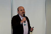 """RIO DE JANEIRO - 14.01.2019 - BLOCKCHAIN-RJ -  Gladstone Arantes ( BNDES) durante seminário internacional """"Tecnologias Disruptivas para Serviços Públicos e Financeiros"""" promovido pelo BNDES. Nele será debatida a aplicação de Blockchain e DLT (Distributed Ledger Technology) nos setores público e financeiro, com destaque para suas contribuições para o aumento da transparência e integridade de dados.<br /> Na manhã desta segunda-feira, (14) na região central do Rio de Janeiro.(Foto: Vanessa Ataliba/Brazil Photo Press)"""