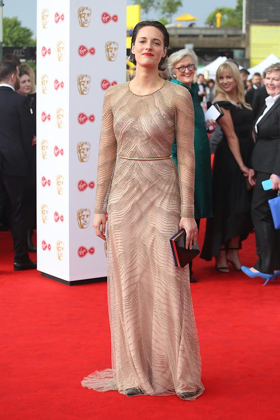 Phoebe Waller-Bridge<br />  arriving at the Bafta Tv awards 2017. Royal Festival Hall,London  <br /> ©Ash Knotek