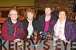CELEBRATION: Celebrating the New Year at Pat Sheahan's pub, Firies on Monday l-r: Maureen Moore, Joan Beranger, Breda Falvey and Margaret Healy.