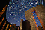(POTM #1 February 2017) Maryhill Stonehenge Star Trails #1