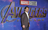 """Paul Rudd at the """"Avengers: Endgame"""" UK fan event, Picturehouse Central, Corner of Shaftesbury Avenue and Great Windmill Street, London, England, UK, on Wednesday 10th April 2019. <br /> CAP/CAN<br /> ©CAN/Capital Pictures"""