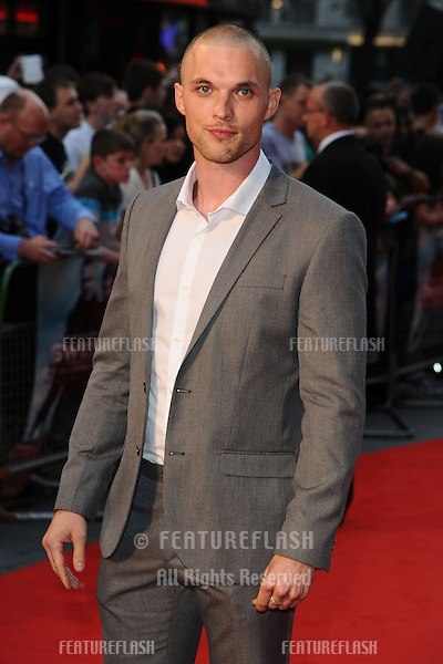 "Ed Skrein arrives for the premiere of ""The Sweeney"" at the Vue cinema, Leicester Square, London. 04/09/2012 Picture by: Steve Vas / Featureflash"